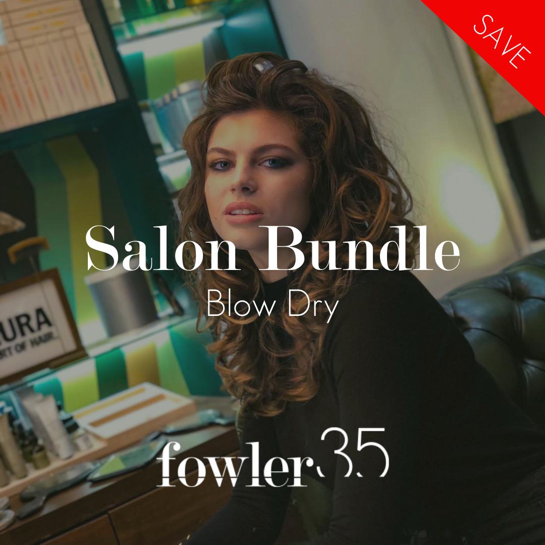 Salon bundle blow dry